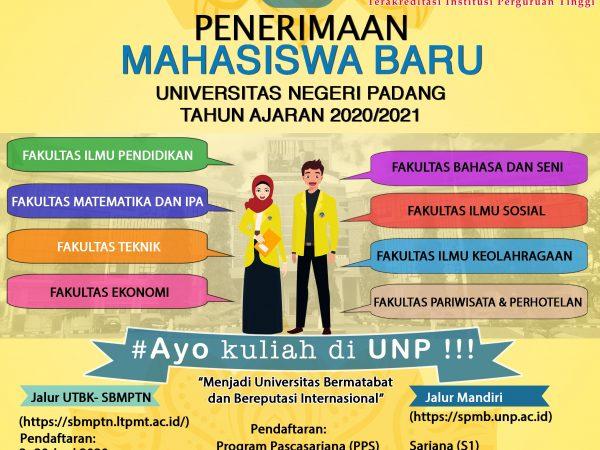 Penerimaan Mahasiswa Baru Universitas Negeri Padang